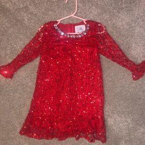 Sparkly Christmas dress lala and erina